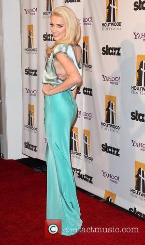 Amber Heard and Beverly Hilton Hotel