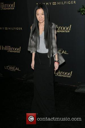 Vera Wang The Hollywood Reporter Big 10 Party at the Getty House Los Angeles, California - 24.02.11