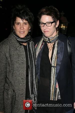 Lisa Cholodenko and Wendy Melvoin The Hollywood Reporter Big 10 Party at the Getty House Los Angeles, California - 24.02.11