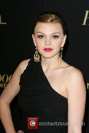 Aimee Teegarden The Hollywood Reporter Big 10 Party at the Getty House Los Angeles, California - 24.02.11