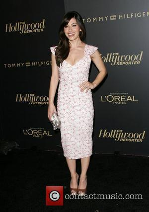 Sarah Shahi The Hollywood Reporter Big 10 Party at the Getty House Los Angeles, California - 24.02.11