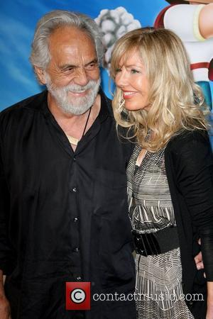 Tommy Chong and Guest Los Angeles premiere of Hoodwinked Too! Hood vs Evil held at The Grove - Arrivals Los...