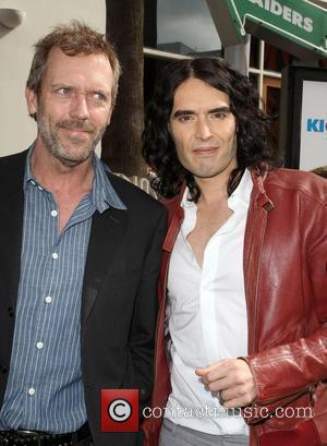 Hugh Laurie and Russell Brand