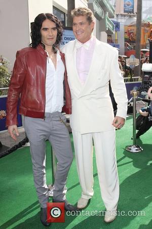 Russell Brand and David Hasselhoff