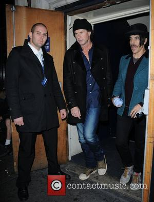 Anthony Kiedis, Chad Smith, Red Hot Chili Peppers and Cafe De Paris