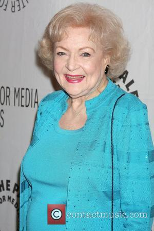 Betty White,  at the Paleyfest 2011 Presents 'Hot in Cleveland' at The Paley Center for Media - Arrivals Beverly...