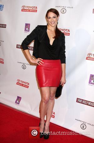 Amanda Righetti  24 Hour Hollywood Rush at the Wilshire Ebell Theatre  Los Angeles, California, USA - 20.02.11