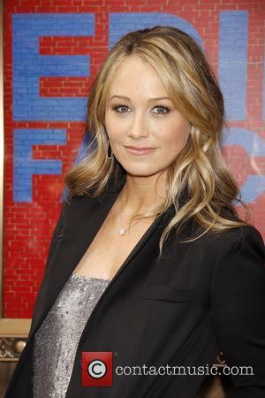 Christine Taylor  Opening night of the Broadway production of 'The House Of Blue Leaves' at the Walter Kerr Theatre...
