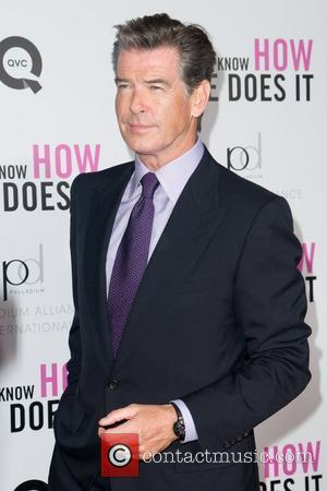 Pierce Brosnan New York premiere
