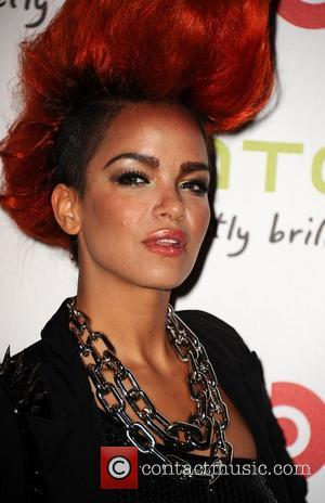 Eva Simons arrive at the launch of HTC Sensation XL with Beats Audio TM at The Roundhouse London, England -...