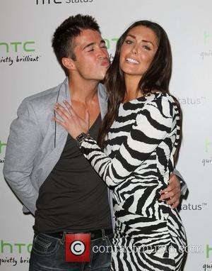 Joey Orr (L) and Taylor Cole The HTC Status Social launch event held at Paramount Studios - Arrivals Los Angeles,...