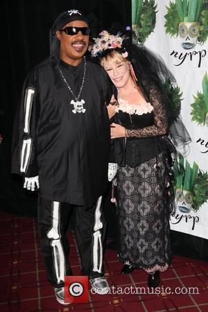 Stevie Wonder, Bette Midler Bette Midler's Annual 'Hulaween' Gala to benefit the New York Restoration Project, held at the Waldorf-Astoria...