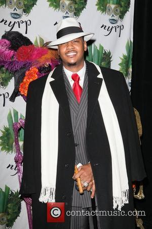 Carmelo Anthony   Bette Midler's Annual 'Hulaween' Gala to benefit the New York Restoration Project held at the Waldorf-Astoria...