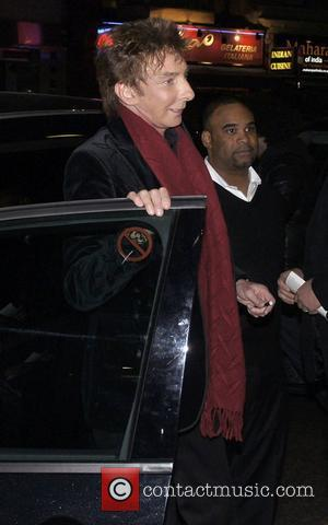 Barry Manilow The Hurly Burly Show Press Night - Arrivals London, England - 11.03.11