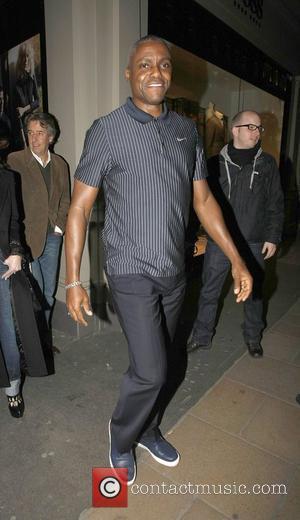 Carl Lewis leaving Hush Restaurant in Mayfair London, England - 14.03.11
