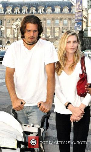 Tommy Haas and Sara Foster  outside the Hyatt Hotel Paris for the Roland Garros 2011 French Open Paris, Hotel...