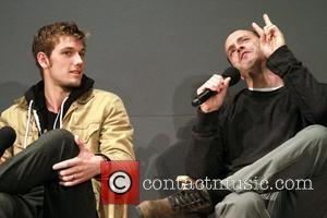 Alex Pettyfer and Director D.J. Caruso 'I Am Number Four' stars visit the Apple SoHo store  New York City,...