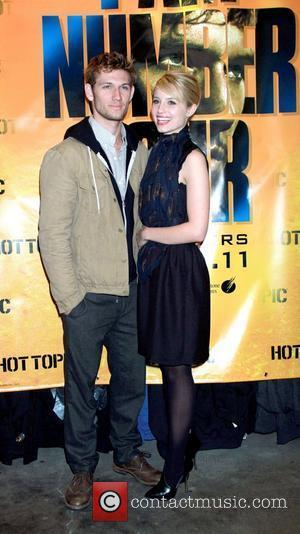 Alex Pettyfer and Dianna Agron 'I Am Number Four' in-store signing at Hot Topic in the Westfield Mall Paramus, New...
