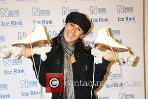 Hayley Tamaddon,  at the launch of the Natural History Museum Ice Rink London, England - 03.11.11