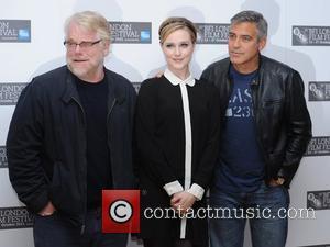 Philip Seymour Hoffman, Evan Rachel Wood, George Clooney and Odeon West End