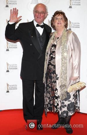 Frank Kelly  'Irish Film and Television Awards' at Convention Centre Dublin - Arrivals Dublin, Ireland - 12.02.11