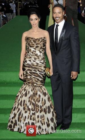 Mallika Sherawat and Brian White  International India Film Academy - IIFA 2011 Toronto Awards Gala at Rogers Centre -...