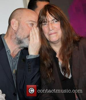 Michael Stipe and Patti Smith Steven Sebring's 'Illumination: Who Are Poets,' a Milk Gallery Project at Milk Gallery New York...