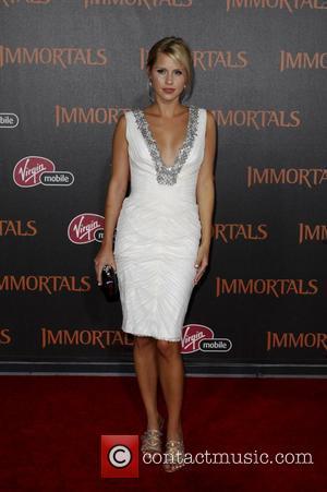 Claire Holt  'Immortals 3D' Los Angeles premiere at Nokia Theatre L.A. Live  Los Angeles, California - 07.11.11