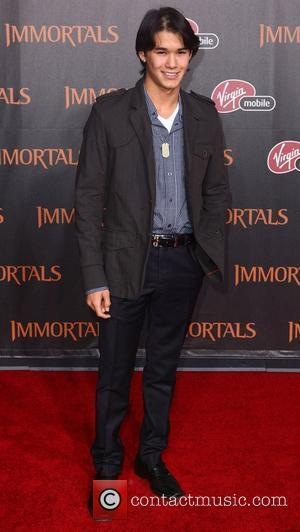 BooBoo Stewart 'Immortals 3D' Los Angeles premiere at Nokia Theatre L.A. Live  Los Angeles, California - 07.11.11