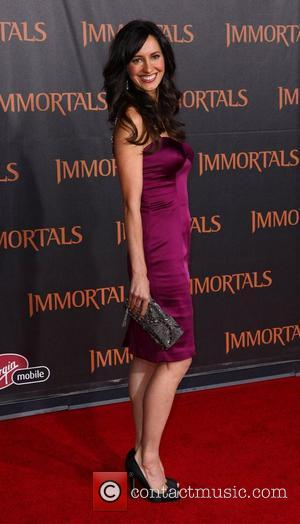 Charlene Amoia 'Immortals 3D' Los Angeles premiere at Nokia Theatre L.A. Live  Los Angeles, California - 07.11.11