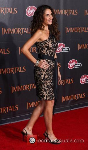 Melina Kanakaredes 'Immortals 3D' Los Angeles premiere at Nokia Theatre L.A. Live  Los Angeles, California - 07.11.11