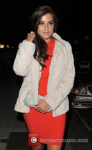 Imogen Thomas enjoys an evening out in Chelsea. London, England - 07.10.11