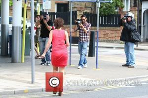 Imogen Thomas heads to Tesco to do some shopping London, England - 03.06.11