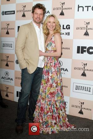 James Tupper and Anne Heche The 2011 Film Independent Spirit awards held at Santa Monica Beach - Arrivals  Los...