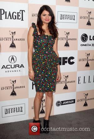 Melonie Diaz  The 2011 Film Independent Spirit awards held at Santa Monica Beach - Arrivals  Los Angeles, California...