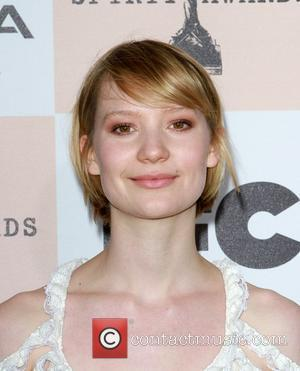 Mia Wasikowska The 2011 Film Independent Spirit awards held at Santa Monica Beach - Arrivals  Los Angeles, California -...