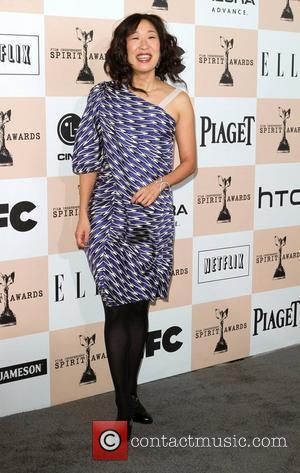 Sandra Oh The 2011 Film Independent Spirit awards held at Santa Monica Beach - Arrivals  Los Angeles, California -...
