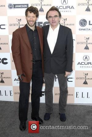 Danny Boyle and Aron Ralston The 2011 Film Independent Spirit awards held at Santa Monica Beach - Arrivals  Los...