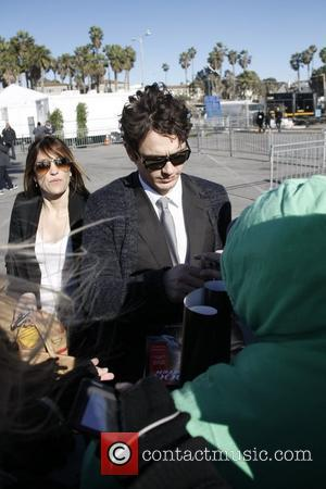 James Franco The 2011 Film Independent Spirit awards held at Santa Monica Beach - Outside Arrivals  Los Angeles, California...