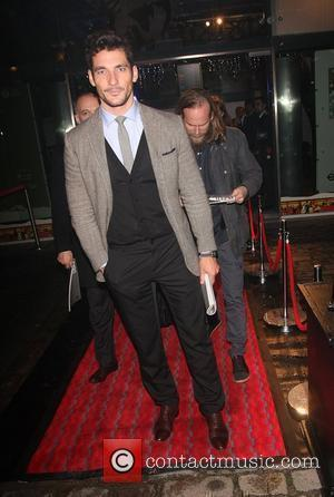 David Gandy The 1000 - London's Most Influential People held at the London Transport Museum - Departures London, England -...