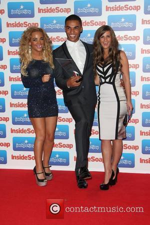 Chelsee Healey, Lucien Laviscount and Rebecca Ryan The 2011 Inside Soap Awards - Arrivals London, England - 26.09.11