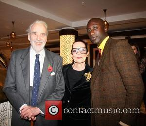 Christopher Lee and Ozwald Boateng