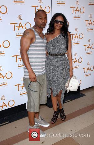 Columbus Short and guest TAO Beach Season Opening with supermodel Irina Shayk, held at The Venetian Resort and Casino Las...