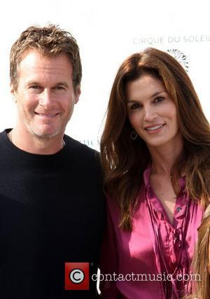 Rande Gerber, Cindy Crawford and Kodak Theatre
