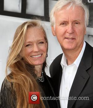 Suzy Amis, James Cameron and Kodak Theatre
