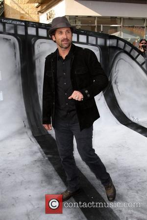 Patrick Dempsey Premiere of Iris - A Journey Into The World Of Cinema by Cirque du Soleil, held at the...