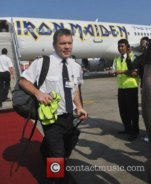 Bruce Dickinson Band members of Iron Maiden arriving in Bali during their The Final Frontier World Tour 2011 Bali, Indonesia...