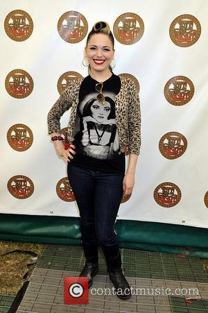 Imelda May  The Isle of Wight Festival at Seaclose Park - Backstage - Day 1  Newport, Isle of...