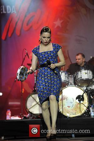 Imelda May and Isle Of Wight Festival