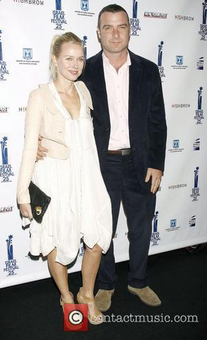 Naomi Watts and Liev Schreiber  The 25th Israel Film Festival Awards held at The Plaza Hotel. New York City,...